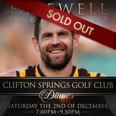 Clifton Springs SOLD OUT