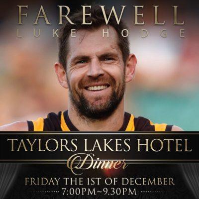 Luke Hodge Taylors Lakes